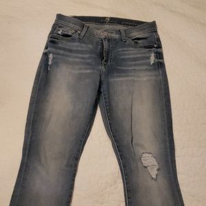 7 for mankind skinny jean with stretch